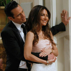 Sonny and Brenda at their wedding reception. (2011)