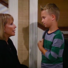 Monica and grandson Jake