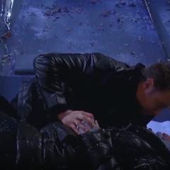 Jason finds Sam in labor