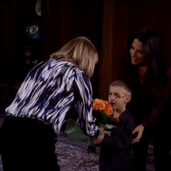 Monica with Sam and grandson Danny