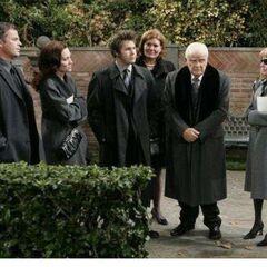 Ned, Skye, Dillon, maid Alice, Edward, Monica