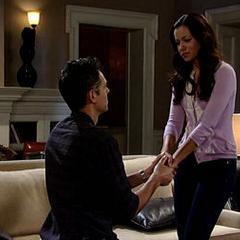 Patrick proposes to Sabrina