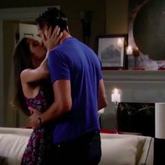 Sam says yes kiss
