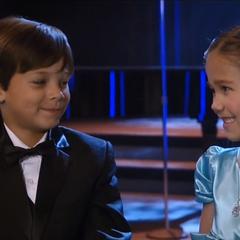 Cameron and Emma at the Nurses' Ball