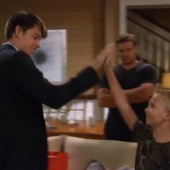 Michael meets little Jake