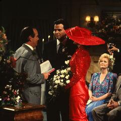 Alan weds Lucy Coe