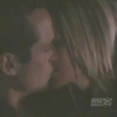 Sonny and Carly kissing before having sex (2008)