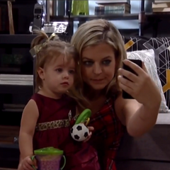 Maxie and her daughter Georgie