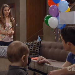 Rafe and Molly talk about Franco on Danny's first birthday
