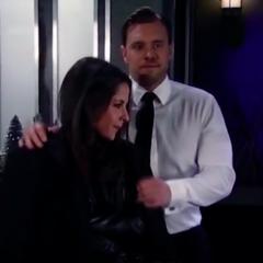Jason gives Sam his jacket