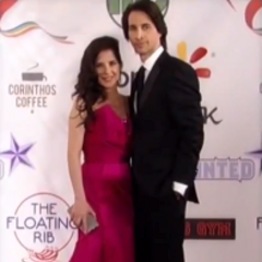 Sam and Silas on the red carpet