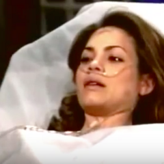 Elizabeth arrives at the hospital