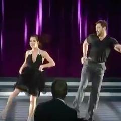 Sam and Anton (Maks) dance to