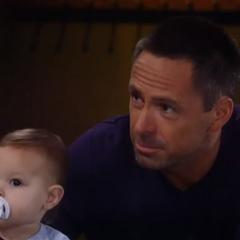 Julian bonds with Avery