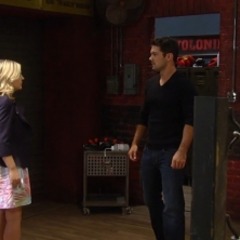Nathan and Maxie run into each other at the gym