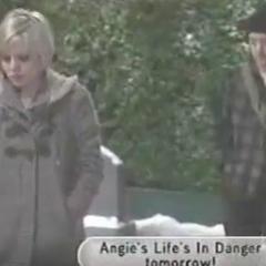 Visiting Georgie's grave