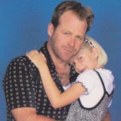 Scott and daughter Serena