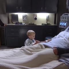 Sam, Jason and their son, Danny (2014)
