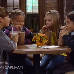 Cameron gets milkshakes with Emma, Joss and Spencer