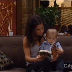 Sam reads to Danny