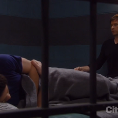 Rafe shares a cell with Todd Manning