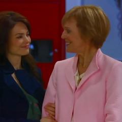 Elizabeth and Audrey