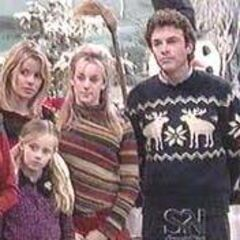 Mac and Felicia with daughters