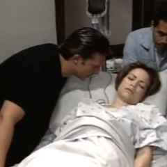 Jason and Liz before her C-section