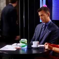 Valentin telling Charlotte that Nina is her stepmother