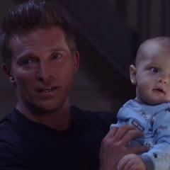 Jason holds Danny