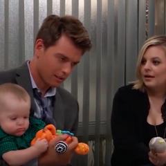 James, Michael and mom
