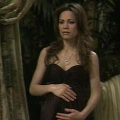 Elizabeth during her pregnancy