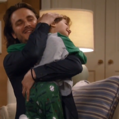 Aiden is reunited with his father