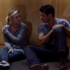 Discussing their feelings for each other-Nathan confesses/Maxie doesn't trust her judgement