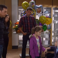 Spencer gets a visit from Emma, Sam and Patrick