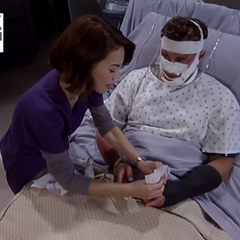 Elizabeth tells Jason about Lucky