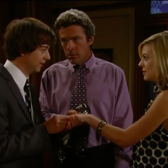 Putting the ring back on Maxie's finger