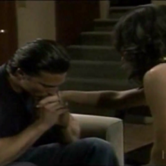 Jason kisses Sam's hand (2007)