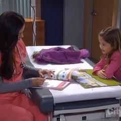 Pregnant Sabrina and Emma