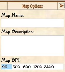 Map Options