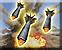 Mortar track standard mortar shells icon