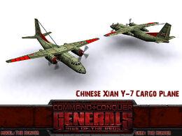 China XianY7 CargoPlane