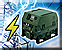 Backup power generators icon