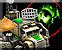 Command truck radar scan icon