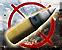 Howitzer position long range artillery barrage icon