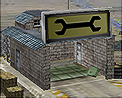 Tech repair bay icon