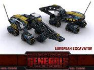 ECA Excavator Render