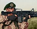 Green beret icon