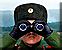 Hopper tank spot targets icon
