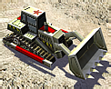 Chinese dozer icon